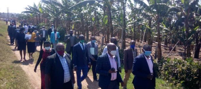 Bushenyi TPC Monitors  Nkanga Sub-County Projects